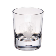 Стакан для виски Dartington crystal engraved спаниель 300мл