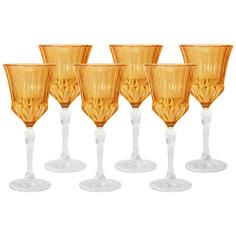 Набор бокалов для вина 6х0.2л адажио янтар Same