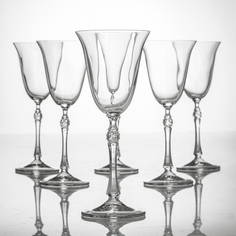"Набор бокалов для вина Проксима, ""Парус"", 185мл, 2шт Crystalite bohemia"