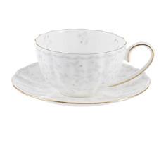 Набор чайный Hatori Джулия беж 12 предметов 6 персон 250 мл