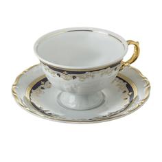 Чашка с блюдцем Thun karlovarsky por мария луиза 155мм декор