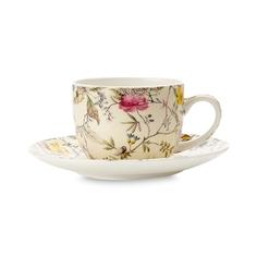 Чашка с блюдцем для кофе Maxwell & Williams Летние цветы 0.1 л