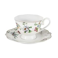 Чашка с блюдцем 0.2л йорк Anna lafarg primaver