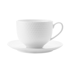 Чашка с блюдцем Maxwell & Williams Даймонд 0.22 л