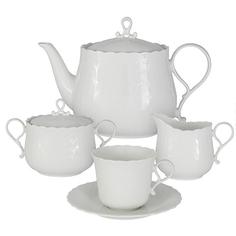 Сервиз чайный Narumi Шёлк 17 предметов 6 персон