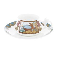 Чашка с блюдцем сказка о рыбаке и рыбке Ифз