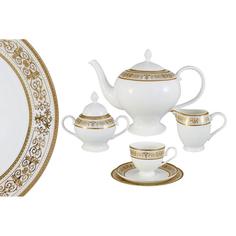 Сервиз чайный Шарлотта 21 предмет 6 персон Emily AL-14-604/21-E5