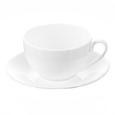 Чашка для капучино 180мл с блюдцем Wilmax