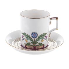 Чашка с блюдцем чайная замоскворечье Ифз
