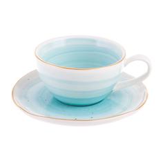 Чашка с блюдцем Easy life artesanal