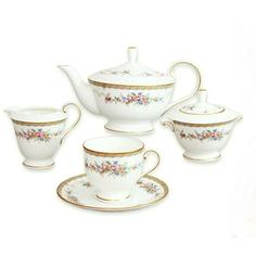 Сервиз чайный Narumi Наслаждение 17 предметов 6 персон