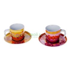 Набор кофейный Tognana Набор 6 чаш д/кофе+блюдца marakech 130мл (ML085343473)
