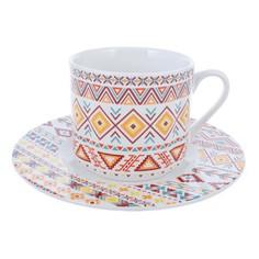 Чашка с блюдцем 0.2л ацтека Imari