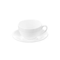 Чашка чайная & блюдце Wilmax 250 мл в цв кор