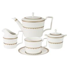 Сервиз чайный Colombo Золотой замок 15 предметов 6 персон
