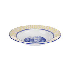 Тарелка суповая Spode Голубая Италия 23 см