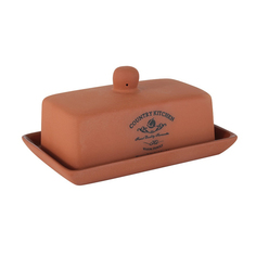 Масленка Terracotta Умбра 18.5 х 12 см