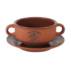 Супница на блюдце Terracotta Умбра 300 мл