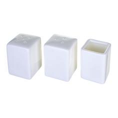 Набор соль перец в цветной коробке Wilmax WL-996118/1C