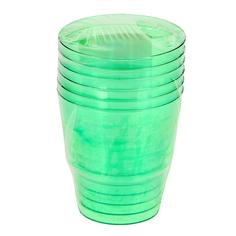 Стакан Super кристалл зеленый 0.2 л 6шт