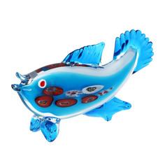 Фигурка Art glass-сувенир экзотическая рыбка 32.5х14см