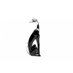 Статуэтка Гарда-декор собака черная с сереб 12х6х24