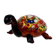 Фигурка Art glass-сувенир черепаха 18х9 см