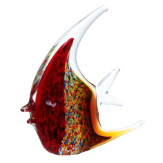 Фигурка Art glass-сувенир коралловая рыбка 17х19см