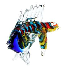 Фигурка Art glass-сувенир карасик 18х14 см