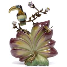 Ваза с птицей 28см Wah luen handicraft