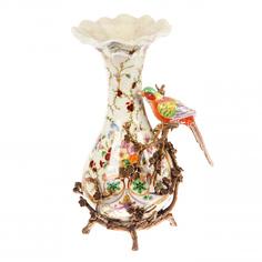 Ваза с птицей 30.5см Handicraft