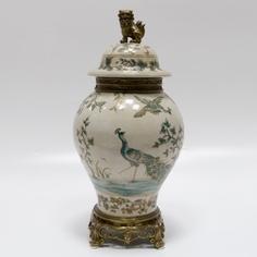 Ваза с крышкой 39см Wah luen handicraft
