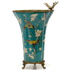 Ваза со стрекозой 32см Wah luen handicraft