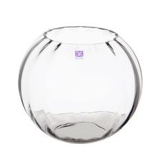 Ваза стеклянная шар Bx glass 22 см
