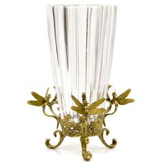 Ваза со стрекозами 35см Wah luen handicraft
