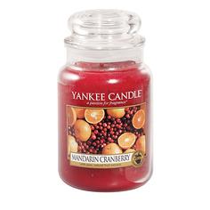 Ароматическая свеча Yankee candle большая Мандарин и клюква 623 г