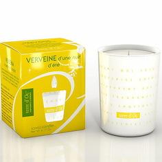 Свеча terre dOc ароматическая в стекле Вербена в летнюю ночь (VER-1-MI)