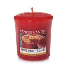 Ароматическая свеча пробная Yankee Candle Ревеневый пирог (1519664E)