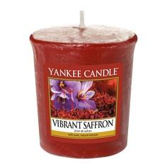 Ароматическая свеча пробная Yankee Candle Яркий шафран (1556234E)