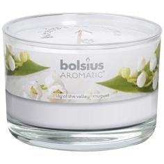 Свеча ароматическая Bolsius в стакане Ландыш 6.3х9 см