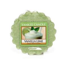 Ароматическая свеча-тарталетка Yankee candle Ваниль и лайм 22 г