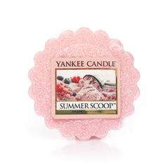 Ароматическая свеча-тарталетка Yankee candle Летнее мороженое 22 г