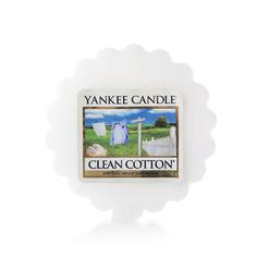 Ароматическая свеча-тарталетка Yankee candle Чистый хлопок 22г