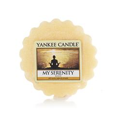 Ароматическая свеча-тарталетка Yankee candle Моя безмятежность 22 г