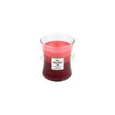 Свеча WoodWick Летние ягоды 9x11см средняя (92950)
