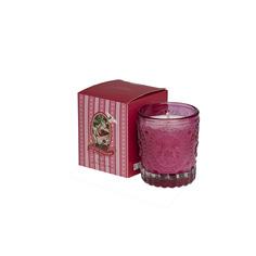 Свеча ароматическая Garda décor Лимонник и имбирь 7.5х7.5х9 см