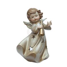 Подсвечник Angel Craft Ангел музыкальные инструменты 17 см