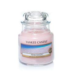 Ароматическая свеча Yankee candle маленькая Розовые пески 104 г