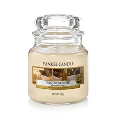 Ароматическая свеча Yankee candle маленькая Новогоднее чудо 104 г