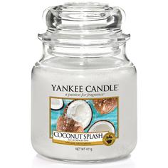 Ароматическая свеча Yankee candle средняя Кокосовый всплеск 411 г